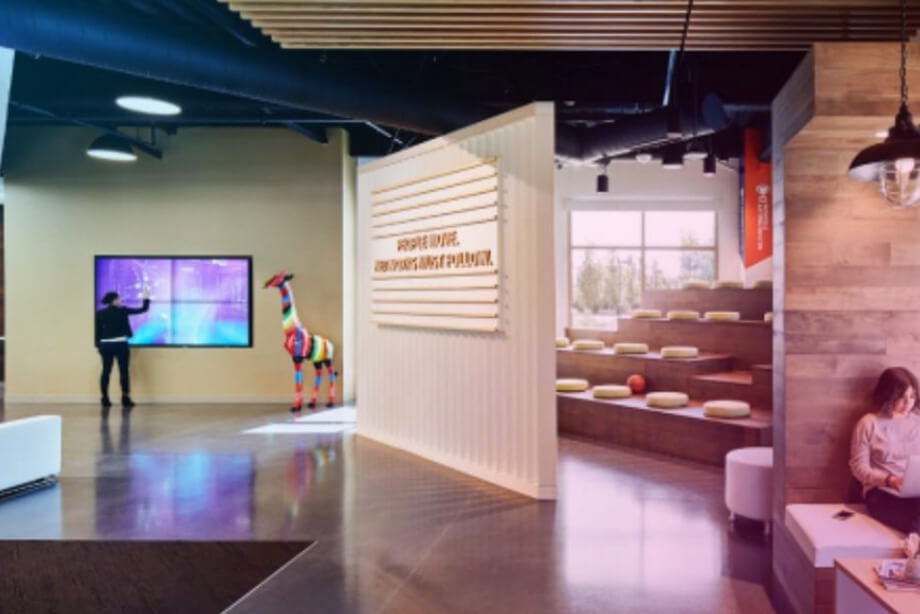 MultiTaction Delivers Immersive Experiences in Executive Briefing Centers