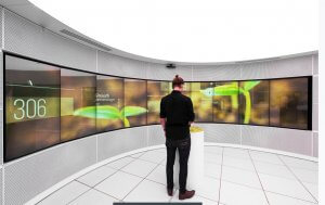 UNB touchscreen from MultiTaction