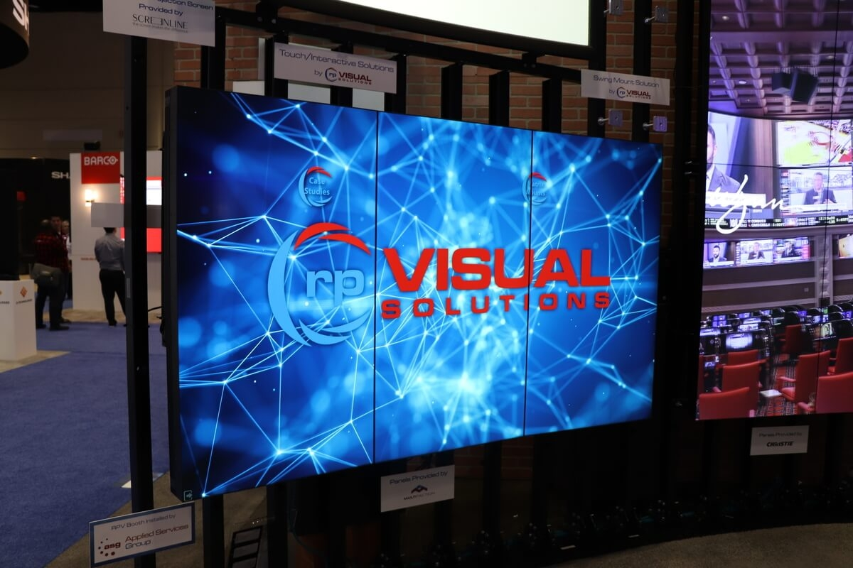 rp Visual booth at InfoComm 2019