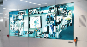 KPMG Video Wall