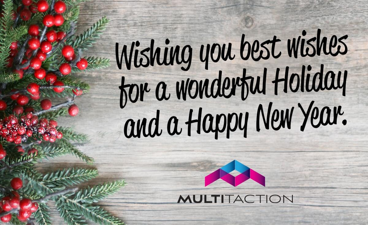 Happy Holidays from MultiTaction!